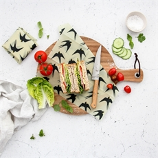 Organic Food Wrap Twin Set Bird -new-The Vault