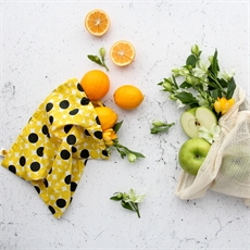 Organic Produce Bags 3 Pack Dot -The Vault