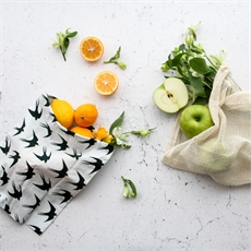 Organic Produce Bags 3 Pack Bird -new-The Vault