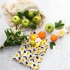 Organic Produce Bags 3 Pack Flower -home-The Vault