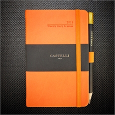 Tucson Pocket Wkly Diary Orange 2019-new-The Vault