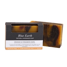 Orange & Cinnamon Swirl Soap 85gram -for-her-The Vault