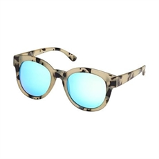 Sunglasses Sloane Ivory Tort Blue Lens -new-The Vault