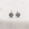 Wild Flower Studs Silver-jewellery-The Vault