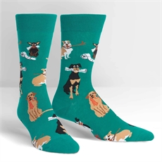 Men's Crew Socks – Chew on This-new-The Vault