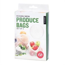 Mesh Produce Bags - Set of 3-new-The Vault