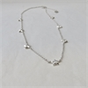 7 Stars Necklace Stg Silver-jewellery-The Vault