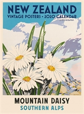 NZ Vintage Posters 2020 Calendar Large -new-The Vault