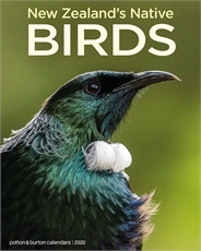 NZ Native Birds 2020 Calendar Small-new-The Vault