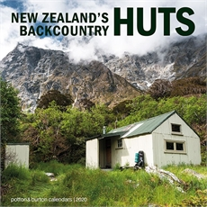 NZ Backcountry Huts 2020 Calendar Small-new-The Vault