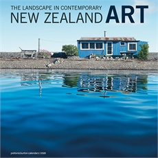 Landscape Contemp NZ Art 2020 Calendar-new-The Vault