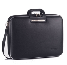 "Classic Brera Briefcase 15"" Black -home-The Vault"