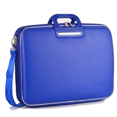 "Classic Brera Briefcase 15"" Cobalt Blue-home-The Vault"