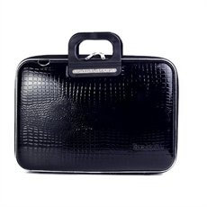 Shiny C Sorrento Laptop Bag 15'' Black -home-The Vault