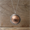 Mixed Metal One Penny Locket-jewellery-The Vault