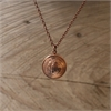 Copper Two Cent Locket -jewellery-The Vault