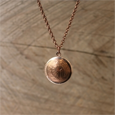Copper One Cent Locket -jewellery-The Vault