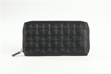 Zip Around Wallet - Pacific Black -wallet,-purses-and-bags-The Vault