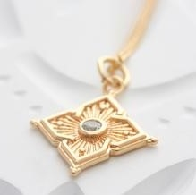 Nova Necklace Gold Plate-new-The Vault