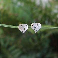 Kawakawa Studs Stg Silver  -new-The Vault
