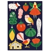 New Zealand Christmas Icons Card-cards-The Vault