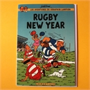 Tintin Rugby New Year Card