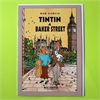 Tintin Baker Street Card-cards-The Vault