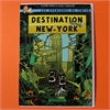 Tintin Destination New York Card-cards-The Vault