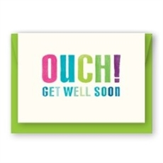 Ouch! Get Well Soon Card-cards-The Vault