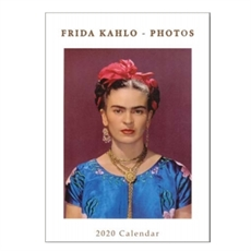 Frida Kahlo 2020 Lrg Calendar 32x45cm-new-The Vault