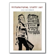 International Street Art 2020 Calendar L-new-The Vault