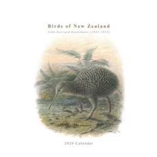 Birds of NZ 2020 Calendar A4-new-The Vault