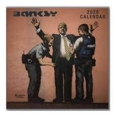 Banksy 2020 Calendar 30x30cm-new-The Vault