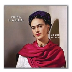 Frida Kahlo 2020 Sml Calendar 21x21cm-new-The Vault