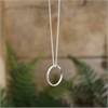 Mobius Round Pendant Stg Silver-jewellery-The Vault