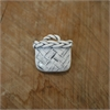 Kete Brooch White-jewellery-The Vault