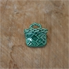 Kete Brooch Green-jewellery-The Vault