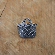 Kete Brooch Dark Grey-new-The Vault