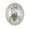 Black Harakeke on White Bowl 10cm-home-The Vault