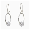Suspend Earrings Sterling Silver-jewellery-The Vault