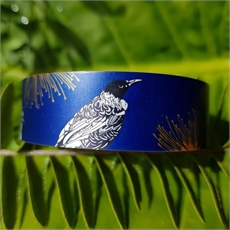 Alum Cuff Narrow Native Tui Indigo-new-The Vault