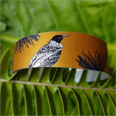 Alum Cuff Narrow Native Tui Mustard-new-The Vault