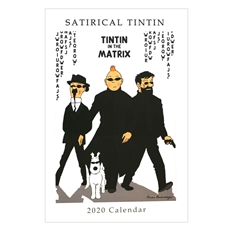 Satirical Tin Tin 2020 Calendar Large-new-The Vault