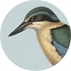Cork Backed Placemat Single Kingfisher-home-The Vault