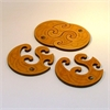 Twin Coasters Set of 4-home-The Vault