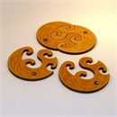Twin Coasters Set of 4