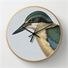 Hushed Blue Kingfisher Clock-home-The Vault