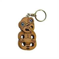Carved Keychain Tiki-for-her-The Vault