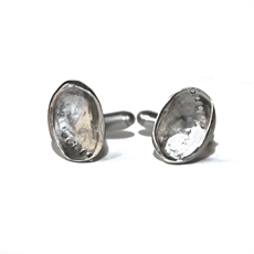 Stg Silver Paua Cufflinks -for-him-The Vault