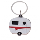 Keeper Keyring Caravan Red